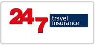 15% off 24/7 Travel Insurance Logo