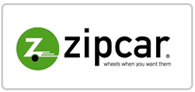 £50 driving credit with Zipcar Logo