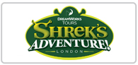 Adults pay child prices at Shrek's Adventure Logo