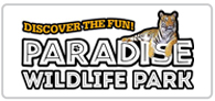 50% off at Paradise Wildlife Park Logo