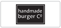 15% off Handmade Burger Logo