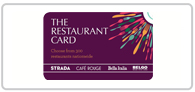 10% off The Restaurant Card Logo