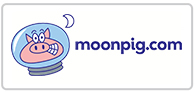 Earn cashback on Moonpig Logo