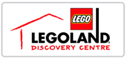 40% off tickets to Legoland Discovery Centre Logo