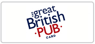 12% off at The Great British Pub Card Logo
